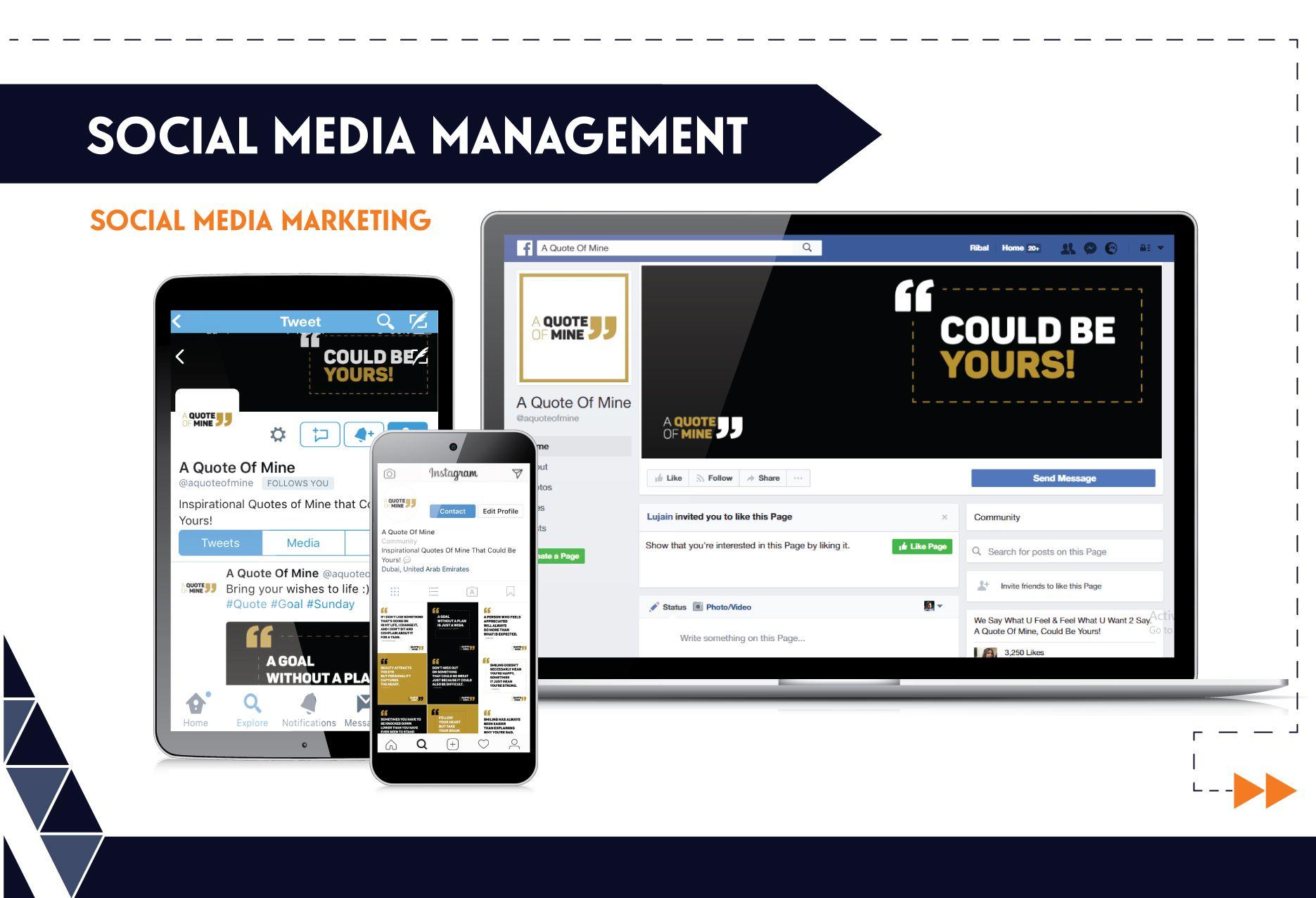 Social Media Management - AQM