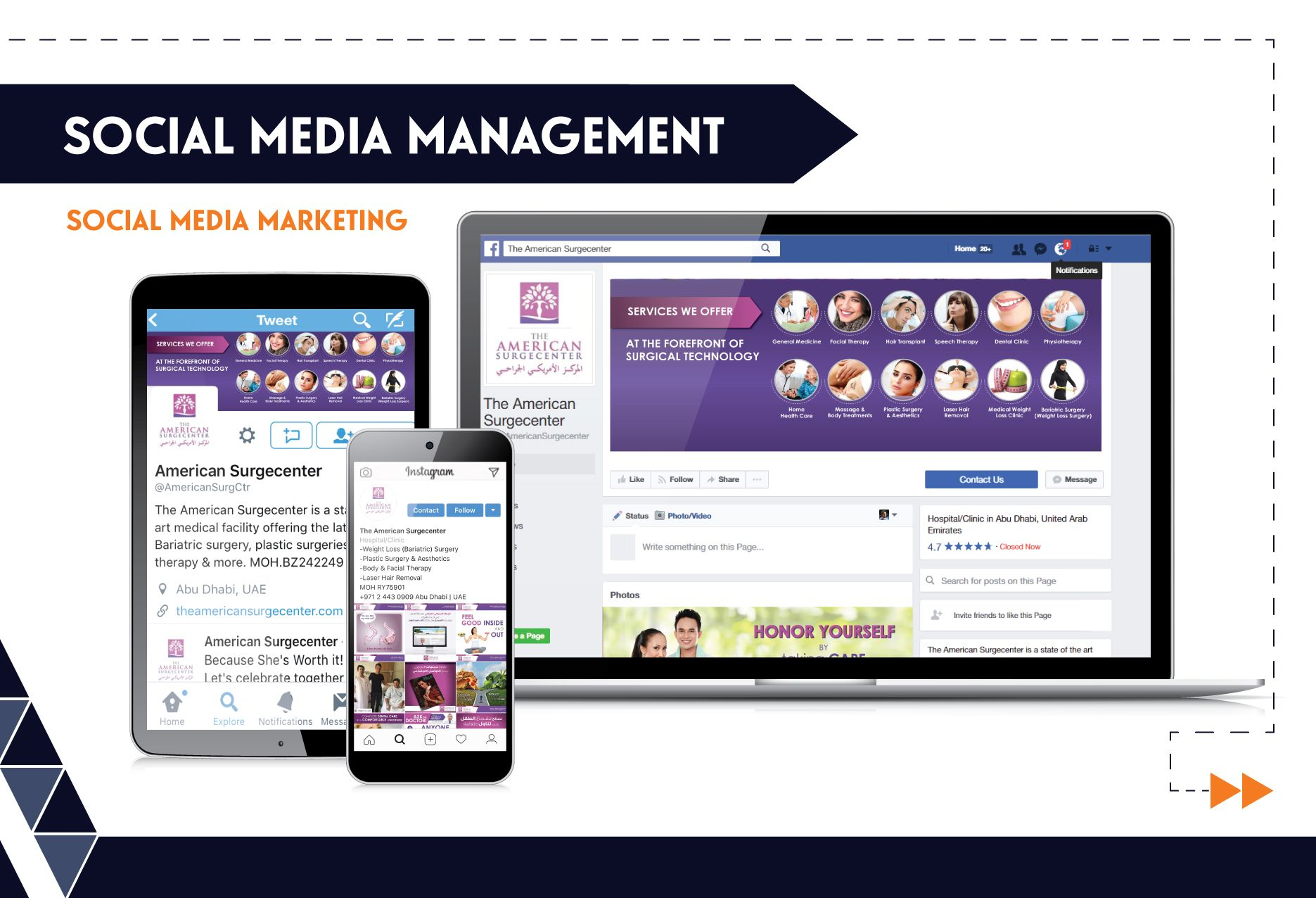 Social Media Management - ASC