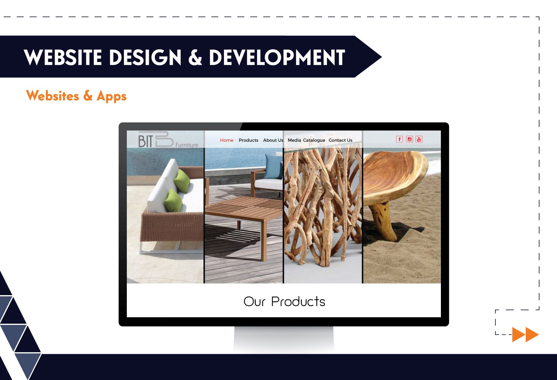 Website Design & Development - BIT Furniture